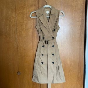 A New Day trench dress XS NWT